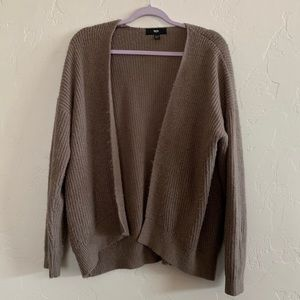 Mossimo Soft Brown Cardigan